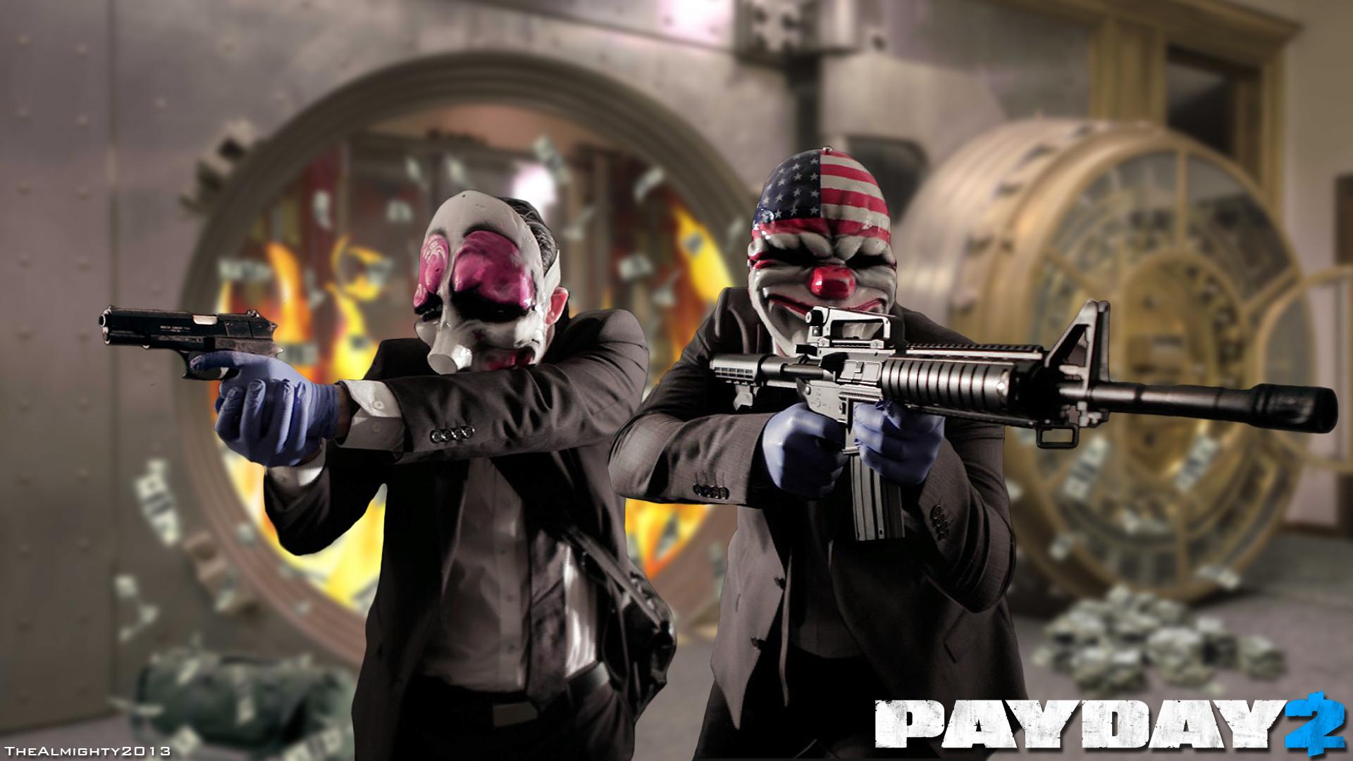 Payday 2 está DE GRAÇA no Steam por tempo limitado!